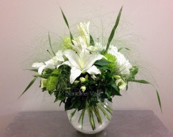 Bouquet rond chic